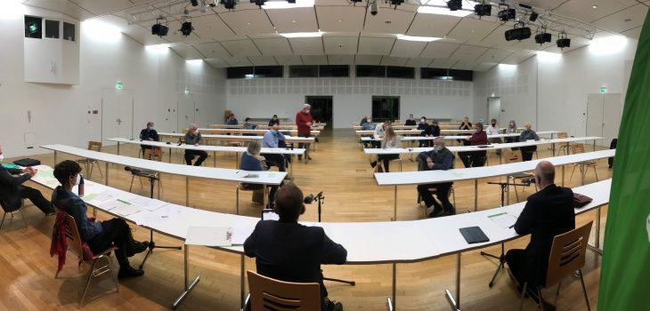 Versammlung im Forum