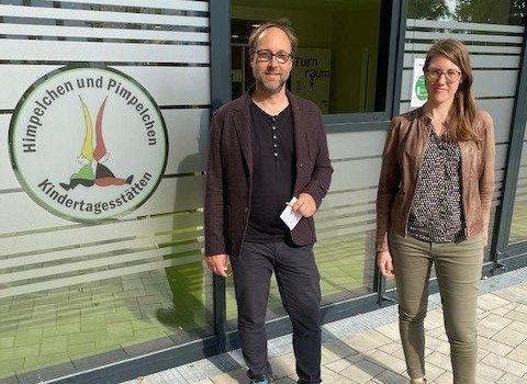 Lars Keitel und Miriam Dahlke