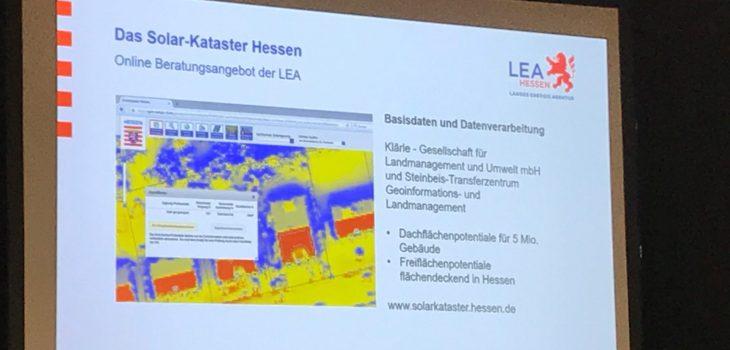 Infoblatt Solarkataster Hessen